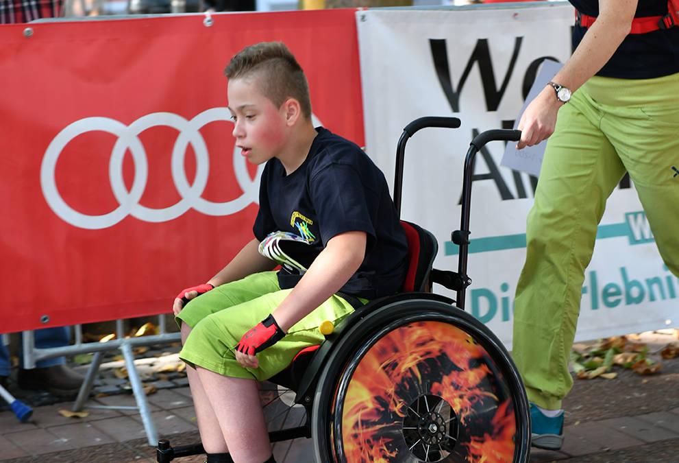 Teilnahme Rollstuhlfahrer/innen