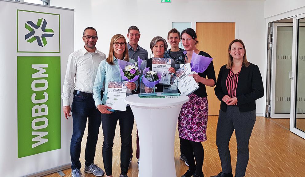 Stadtmeister powered by WOBCOM – Ehrung der Sieger